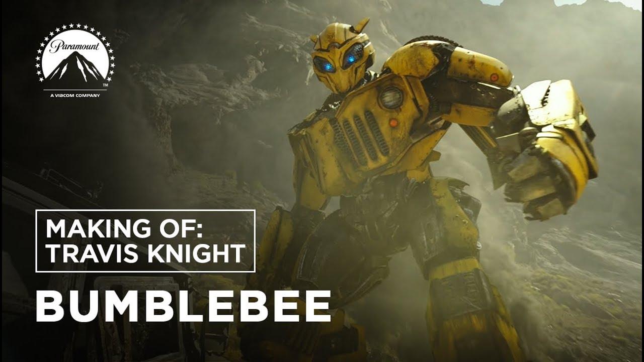 Bumblebee Making Of Travis Knight Leg Paramount Pictures Brasil