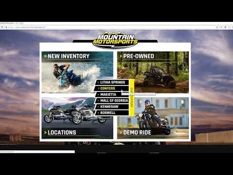 Mountain Motorsports Live Inventory Website Walkthrough