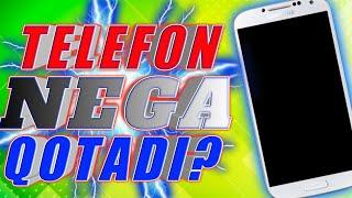 TELEFON NEGA QATADI?//ТЕЛЕФОН НЕГА ҚОТАДИ? //TELEFONNI QUTMAYDIGAN QILISHNI ILOJI BORMI?// MyTub.uz