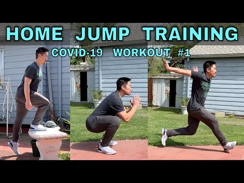 HOME JUMP TRAINING | COVID-19 Workout Part 1/6