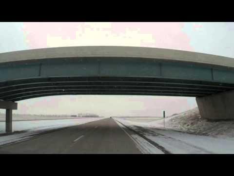 Leaving North Dakota