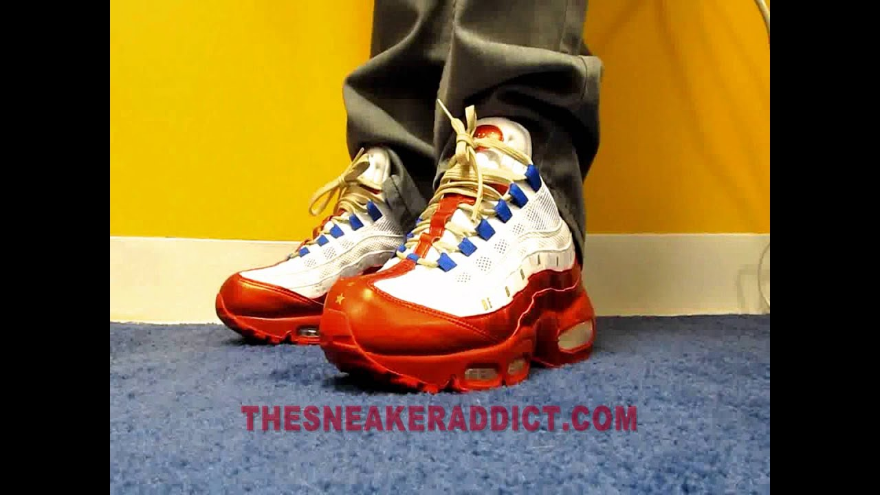 buy popular 0826a fdfb9 Nike Doernbecher Air Max 95 Sneaker Designed By Daniel Blair ,Reviewed By   DjDelz