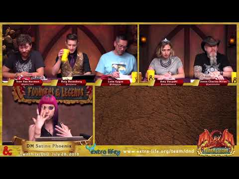 Legends & Founders - Game 2 - Eberron with Satine Phoenix