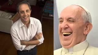 Radioescucha enojada con Ernesto Tenembaum por bromear sobre el Papa