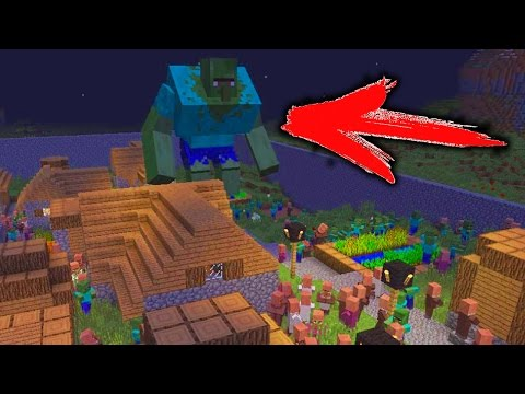 10000 ZOMBIE AND ZOMBIE BOSS VS VILLAGER | MINECRAFT MOB BATTLE REALISTIC MINECRAFT FOR KIDS