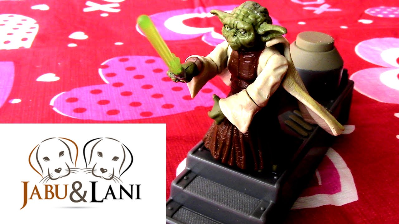 Star Wars Episode 3 Revenge Of The Sith Spinning Attack Yoda Action Figure Collectible Toy Youtube