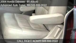 2004 Honda Odyssey EXL for sale in North Attleboro, MA 02760