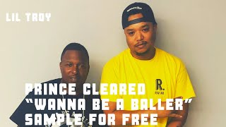 """Lil Troy Talks About """"Wanna Be A Baller,"""" Prince Clearing Sample For Free + More"""