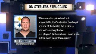 We Need To Talk: Steelers 'Undisciplined'