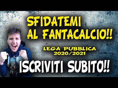 SFIDATEMI!! APRE LA LEGA FANTACALCIO PUBBLICA: CarmySpecial's League 20/21