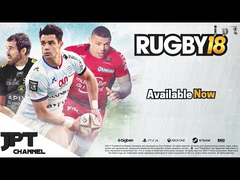 Rugby 18 – Launch Trailer – PS4 Xbox One PC
