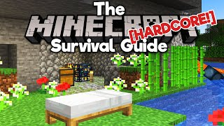 You Don't Need T๐ Survive Your First Night ▫ The Hardcore Survival Guide [Ep.1] ▫ Minecraft 1.17
