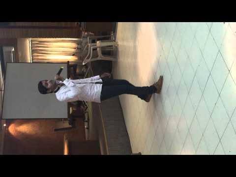 BRCM CLG Allah Waariyan SINGING PERFORMANCE BY MITESH KUKADIYA