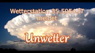 Wetterstation Unwetter Alarm
