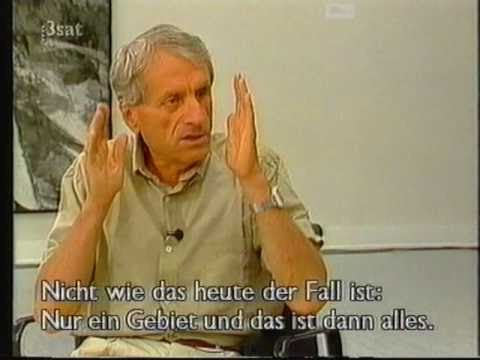 Iannis Xenakis filmed Interview (2 of 2) in English with German subtitles