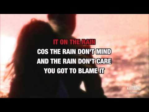 """Blame It On The Rain in the Style of """"Milli Vanilli"""" with lyrics (no lead vocal)"""
