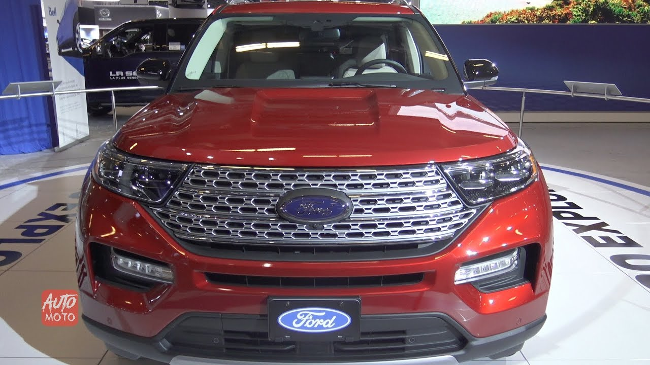 2020 Ford Explorer Limited Exterior And Interior Walkaround 2019