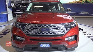 2020 Ford Explorer Limited - Exterior And Interior Walkaround - 2019 Montreal Auto Show