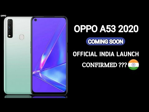OPPO A53 2020 Offical specifications and Price Launch data in india