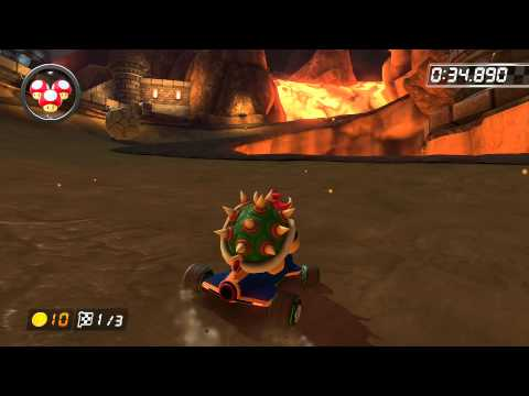 Bowser's Castle - 1:59.070 - Fλ★Kyserz (Mario Kart 8 World Record)