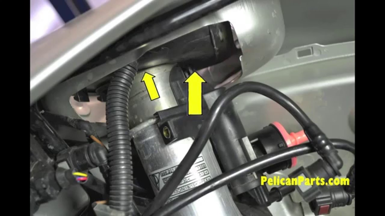 porsche boxster diy guidance fuel filler vent bleeder valve replacement [ 1280 x 720 Pixel ]