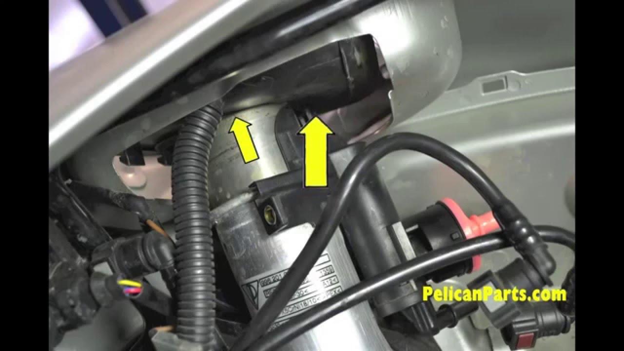 Porsche Boxster DIY Guidance  Fuel Filler VentBleeder Valve Replacement  YouTube