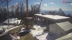 Žičara Sljeme - time lapse gradnje 20.03.2020.