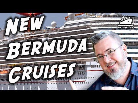 Carnival Sending 6 Cruise Ships To Bermuda