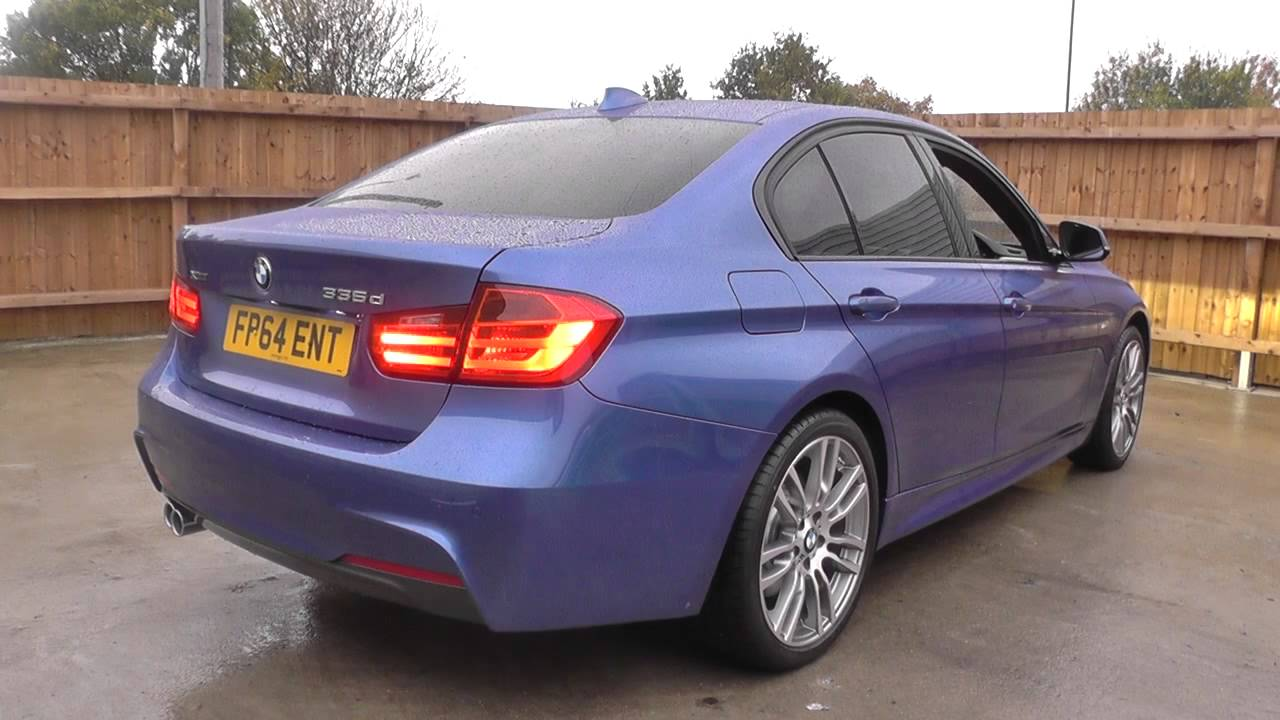 Bmw 3 Series 335d Xdrive M Sport 4dr Step Auto Prof Media