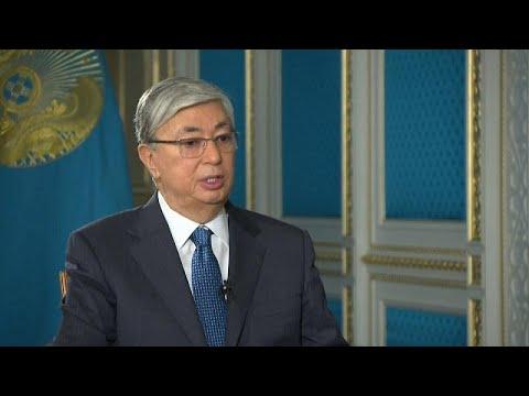 Kazakhstan : 1000 manifestants arrêtés, la réponse du nouveau président Tokaïev à Euronews