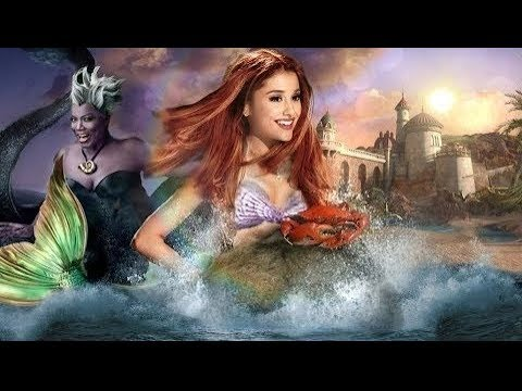 The Little Mermaid - Live Action Trailer (Ariana Grande ...