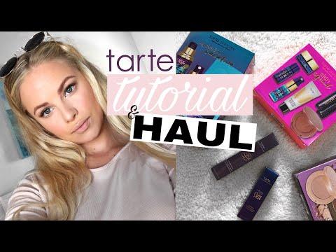 TARTE HAUL + TESTING THE PRODUCTS | Jessica van Heerden