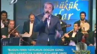 Ferdi Tayfur - Mor Güller - Boynu Bükük Şarkılar 15 Kasım Derbeder Harun / Ferdibaba.com