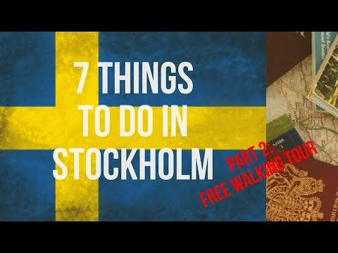 Travel Video - 7 Things to do in Stockholm [Part 2] by TravelWithAlfie