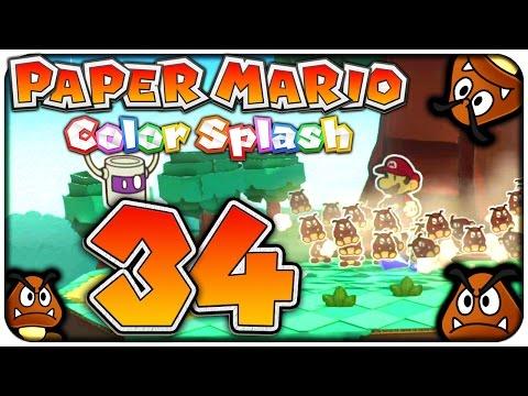 Let's Play PAPER MARIO: COLOR SPLASH Part 34: Miniatur-Abschnitt im Bonsai-Hain