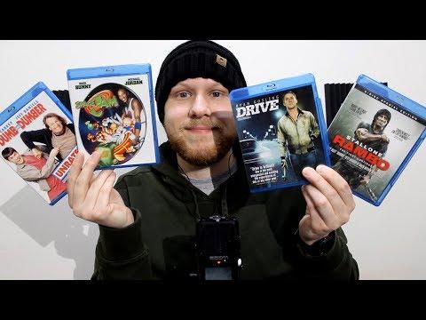 [ASMR] My Blu-ray Collection