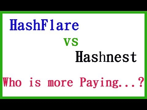 Who Is Paying More? Hashflare Vs Hashnest