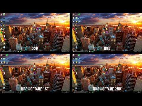 HDD VS Optane VS SSD - Benchmark Boot, Load Time & File Transfer
