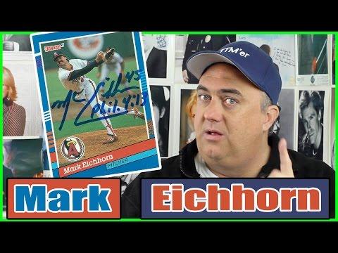 Mark Eichhorn autograph through the mail - TTM Success!