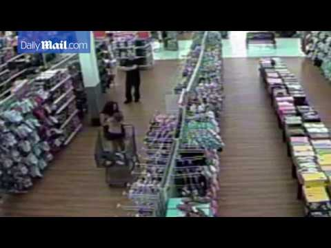 CCTV shows last footage of Cherish Perrywinkle who was abducted from a Florida Walmart