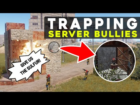 SERVING JUSTICE by TRAPPING the server BULLIES! - Rust Electric Trap Gameplay Mp3