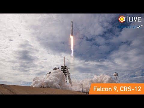 Трансляция пуска SpaceX Falcon 9 (CRS-12)