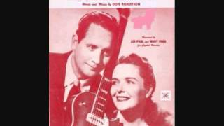Les Paul and Mary Ford - Hummingbird (1955)