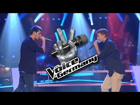 Superheroes – Philipp Rodrian vs. Arnold Meijer | The Voice 2014 | Battle
