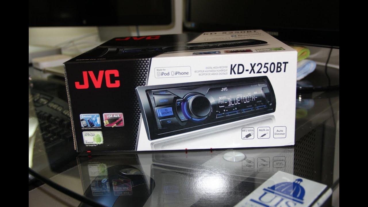 JVC KD-X250BT Receiver Bluetooth Driver PC