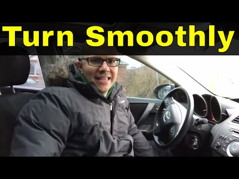 How To Turn Smoothly Beginner Driving Lesson