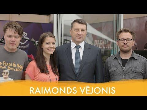 Piecu Rītu viesis - Valsts prezidents Raimonds Vējonis