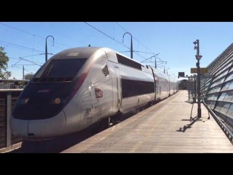 Gare d'Avignon-TGV (TGV Duplex, Réseau, Réseau-Duplex, DASYE et 2N2) + TER (X76500 & B81500)