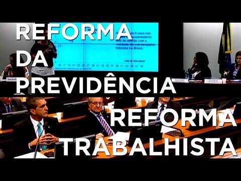 Você conhece as reformas em discussão na Câmara?