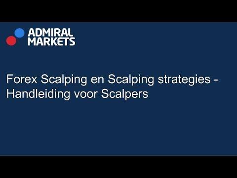 Scalping: een zeer actieve daytrading strategie